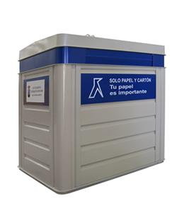 Contenedor de reciclaje met lico thesal - Precio de contenedor ...